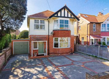 Thumbnail 4 bed detached house for sale in St. Georges Road, Worthing