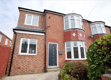 Thumbnail 3 bed semi-detached house for sale in Welbeck Road, Walker, Newcastle Upon Tyne