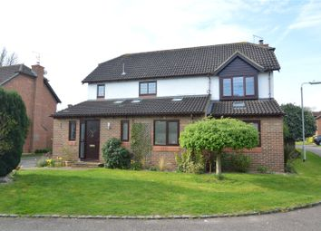 Thumbnail 4 bed detached house for sale in Moor Close, Finchampstead, Wokingham, Berkshire