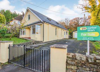 Thumbnail 3 bedroom detached house for sale in Darren Ddu Road, Ynysybwl, Pontypridd