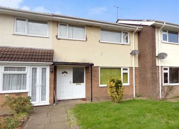 Thumbnail 3 bed terraced house for sale in Brookhouse Drive, Crewe