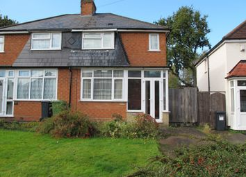 Thumbnail 3 bed semi-detached house for sale in Ringswood Road, Solihull