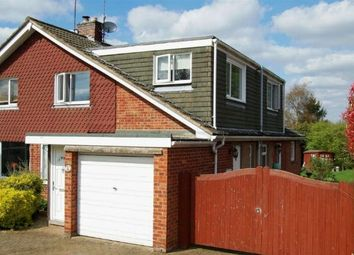 Thumbnail 4 bed semi-detached house for sale in St Marys Way, Weedon, Northampton