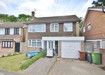 Thumbnail 4 bed detached house for sale in Sparrows Way, Bushey