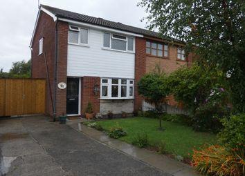 Thumbnail 3 bed semi-detached house for sale in Portland Close, Platt Bridge, Wigan