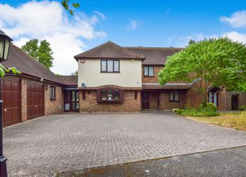 Thumbnail 5 bed detached house for sale in Edy Court, Loughton, Milton Keynes
