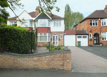 Thumbnail 3 bedroom semi-detached house to rent in Reservoir Road, Solihull