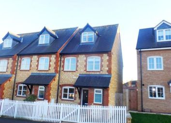 Thumbnail 3 bedroom end terrace house for sale in Easton Lane, Bozeat, Wellingborough