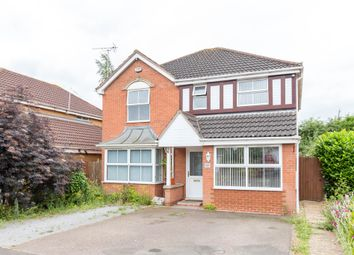 Thumbnail 4 bed detached house for sale in Carter Close, Palk Road, Wellingborough