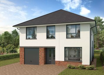 Thumbnail 4 bed detached house for sale in Stewart Gardens, Malletsheugh Road, Newton Mearns