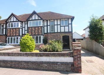 Thumbnail 1 bed flat for sale in George V Avenue, West Worthing