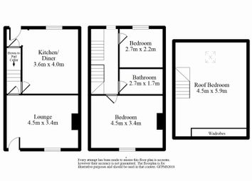 Thumbnail 3 bed terraced house for sale in Unity Street North, Bingley