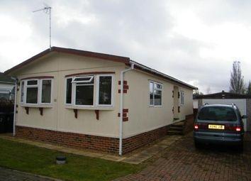 Thumbnail 2 bedroom mobile/park home for sale in Elsworth, Cambridge, Cambridgeshire