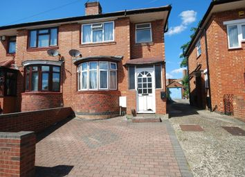Thumbnail 4 bed semi-detached house to rent in Carlyon Road, Wembley, Middlesex