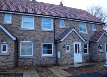 Thumbnail 2 bed terraced house for sale in Blenheim Close, West Row, Bury St. Edmunds