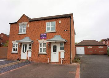 Thumbnail 2 bed semi-detached house for sale in Tuke Place, Lichfield
