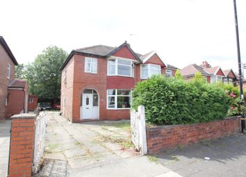 Thumbnail 3 bed semi-detached house for sale in Derbyshire Lane West, Stretford, Manchester