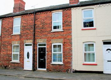 Thumbnail 2 bed terraced house for sale in Carlton Street, Uphill, Lincoln