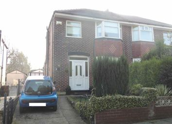 Thumbnail 3 bed semi-detached house for sale in Palmerston Road, Denton, Manchester