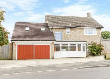 Thumbnail 4 bed detached house for sale in Coneygear Road, Hartford, Huntingdon