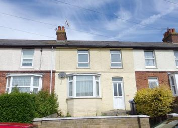 Thumbnail 3 bed terraced house for sale in Chamberlain Road, Dover, Kent