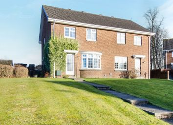 Thumbnail 3 bed semi-detached house for sale in Strathview Park, Glasgow