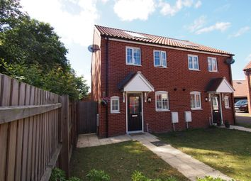 Thumbnail 2 bed semi-detached house for sale in Jeckyll Road, Wymondham