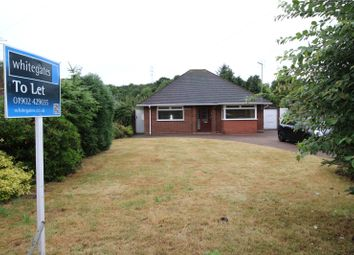 Thumbnail 2 bed detached bungalow to rent in Penstone Lane, Lower Penn, Wolverhampton, Staffordshire
