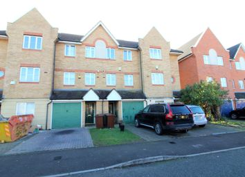Thumbnail 3 bed town house to rent in Goodey Road, Barking, Essex