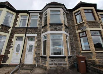 Thumbnail 3 bed terraced house for sale in Park Crescent, Bargoed