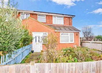 Thumbnail 3 bed semi-detached house for sale in Frindsbury Hill, Frindsbury, Rochester, Kent