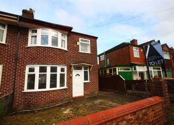 Thumbnail 3 bed property to rent in Gatling Avenue, Longsight, Manchester