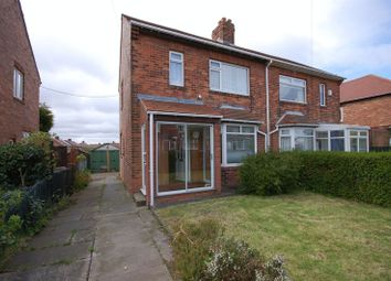 Thumbnail 2 bedroom semi-detached house for sale in Crossley Terrace, Forest Hall, Newcastle Upon Tyne