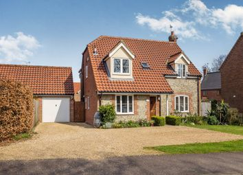 Thumbnail 4 bedroom detached house for sale in New Road, Catfield, Great Yarmouth