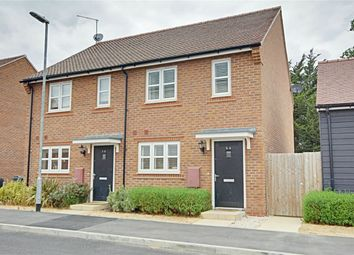 Thumbnail 2 bed semi-detached house for sale in Terlings Avenue, Gilston, Harlow, Hertfordshire