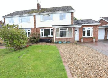 Thumbnail 4 bed semi-detached house to rent in Lavenham Drive, Woodley, Reading