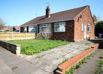 Thumbnail 3 bed semi-detached bungalow for sale in Lea Avenue, Crewe, Cheshire