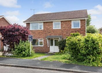 Thumbnail 4 bed detached house to rent in Colley Close, Winchester, Hampshire