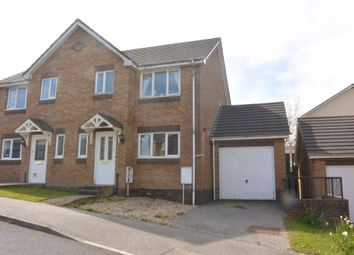 Thumbnail 3 bed semi-detached house to rent in Luxmoore Way, Okehampton