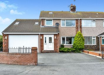 Thumbnail 4 bed semi-detached house for sale in Heol Hendre, Rhuddlan, Rhyl