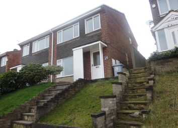 Thumbnail 3 bed semi-detached house to rent in Lynnes Close, Blidworth, Mansfield