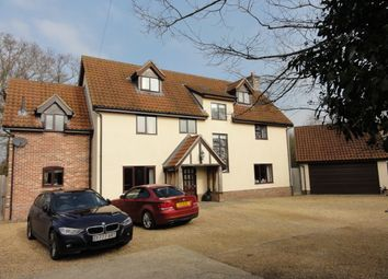 Thumbnail 6 bed detached house to rent in Richer Road, Badwell Ash, Bury St. Edmunds