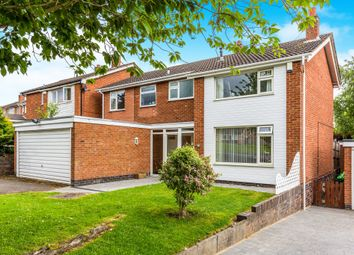 Thumbnail 5 bed detached house for sale in Severn Road, Oadby, Leicester