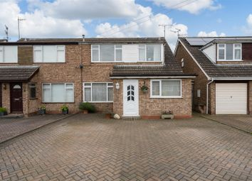 Thumbnail 3 bed semi-detached house for sale in Cotsmore Close, Moreton In Marsh, Gloucestershire