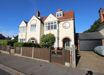 Thumbnail 5 bedroom semi-detached house for sale in Corton Road, Lowestoft