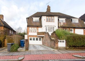 Thumbnail 4 bedroom semi-detached house for sale in Hill Top, Golders Green, London