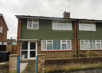 Thumbnail 3 bed semi-detached house for sale in Nursling Crescent, Havant
