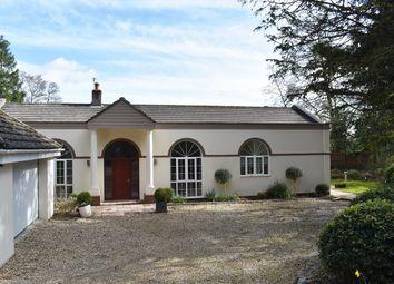 Avon Castle Drive, Ringwood BH24. 5 bed detached bungalow for sale
