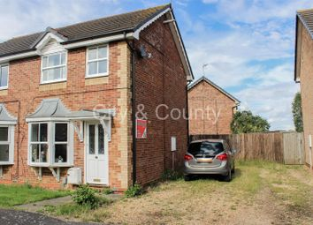 Thumbnail 2 bed semi-detached house for sale in Newlands Road, Whittlesey, Peterborough