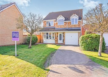 Thumbnail 4 bed detached house for sale in Stonalls, Bury St. Edmunds